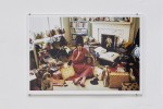 Jan Kaps, Charles Gatewood, Mike Kuchar, Anne McGuire, Brian Moran, V. Vale Marian Wallace, Haunt the Future, V. VALE, PEARL HARBOR IN HER LIVING ROOM, 1998, C-print on paper, 30.5 × 46 CM